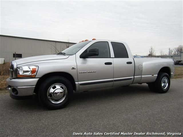 Used 2006 Dodge Ram 3500 Crew Cab Long Bed Dually Cummins Turbo Diesel for sale in RICHMOND, VA - $17,995 -Davis Auto Sales Certified Master Dealer Richmond, Virginia - Visit www.davis4x4.com