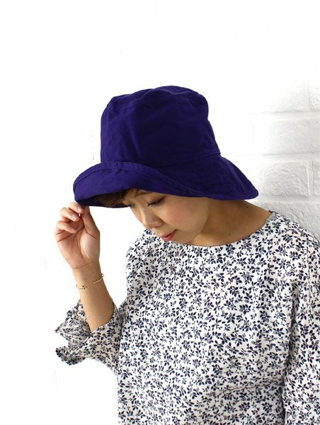 """HAT attack(ハットアタック) コットン  UVカット 帽子  """"Washed Cotton Crusher""""・BAC101  #HATattack"""