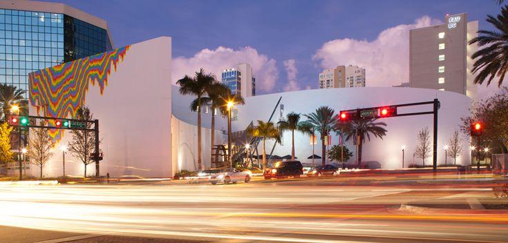 Museum of Art | Fort Lauderdale, Nova Southeastern University. Photo: Robin Hill (Fort Lauderdale, Florida)