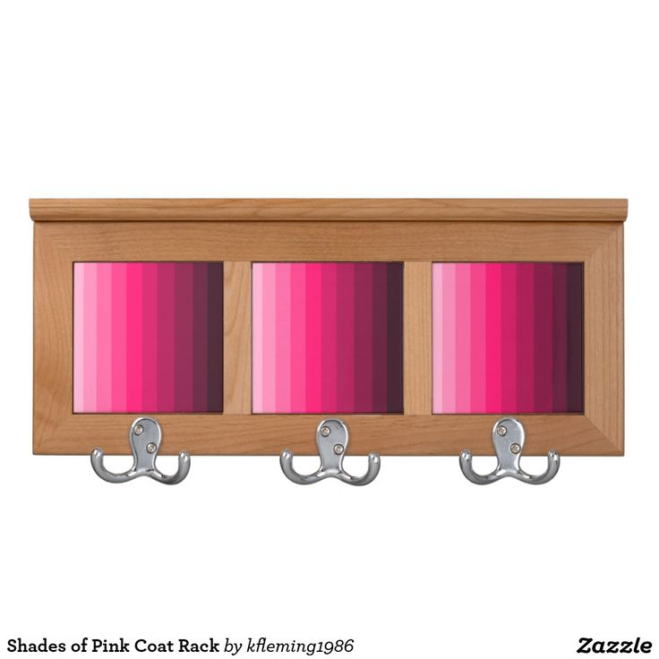 Shades of Pink Coat Rack 51 best