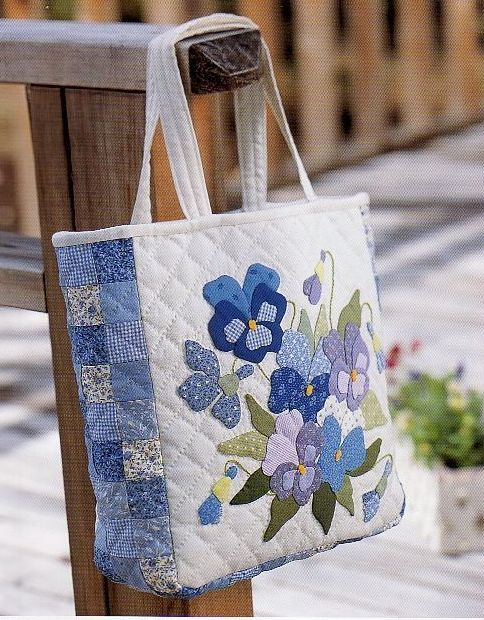 318 best wallet bag images on pinterest wallets clutch bag and maker unknown but too beautiful to pass on by lovely patchwork applique bag but no instructions publicscrutiny Image collections