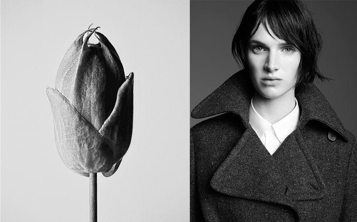 Adolfo Dominguez woman, Fall-Winter 2014/2015 Ashleigh Good by Karim Sadli.