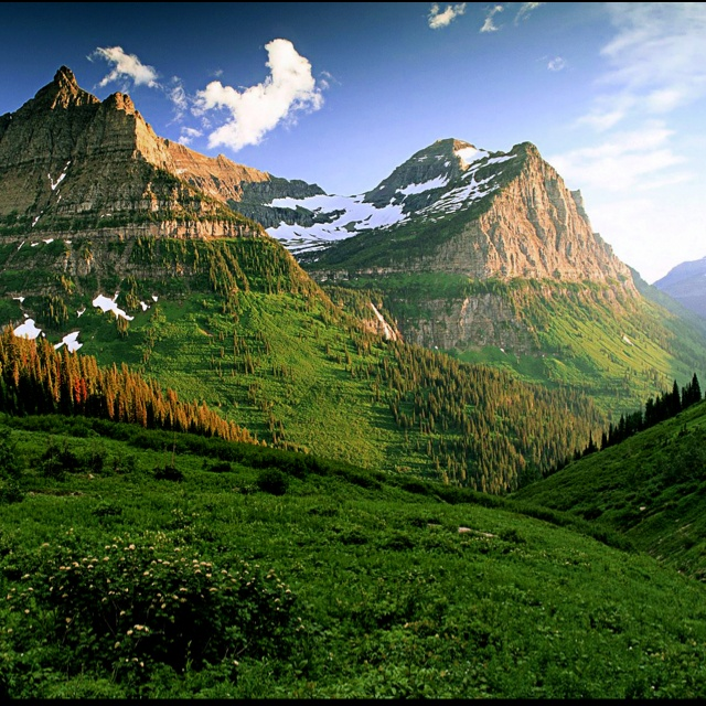Hiking the whole park this summer. Glacier National Park.: Mountain, Natural Photography, Funny Pictures, Natural Pictures, National Parks, Desktop Wallpapers, French Alps, Places, Honeymoons Destinations