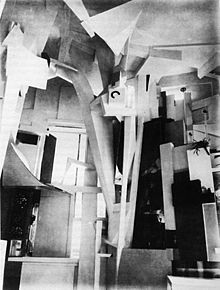 Kurt Schwitters - The Merzbau, the transformation of six (or possibly more) rooms of the family house in Hannover, Waldhausenstrasse 5