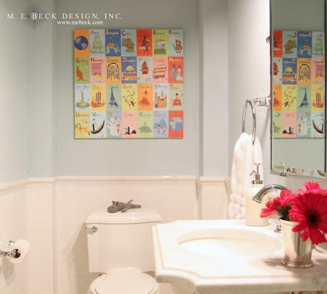 Best Kids Bathrooms: 106 Best Kids Bathroom Images On Pinterest