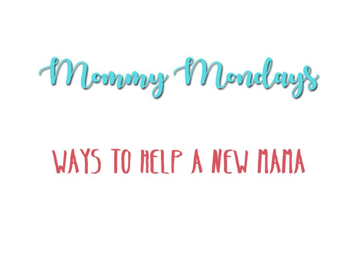 ToMorrow's Memories Photography Blog | Ways to Help a New Mama