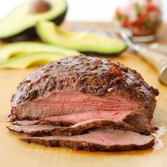 Tri-tip is a tender, lean beef cut that gets its name from its triangular shape. It is sold as a small roast from the bottom sirloin or cut into tri-tip steaks. What makes it special is the full flavor it promises for an affordable price. Season tri-tip and roast in the oven for an easy-fix dinner.