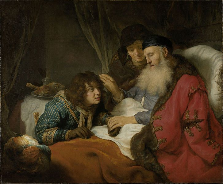 Blessing of Jacob by Govert Flinck | Maria Lang
