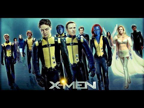 5 X Men Primera Generacion