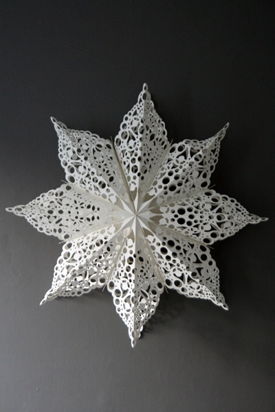 Paper star - I would love to find a pattern that I could use to make a star like this on my die cutter.
