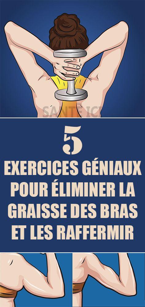 5 exercices géniaux pour éliminer la graisse des bras et ...
