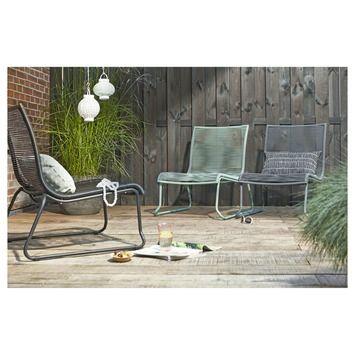 Loungestoel Capri grijs | Tuinstoelen | Tuinmeubelen | Tuin | GAMMA