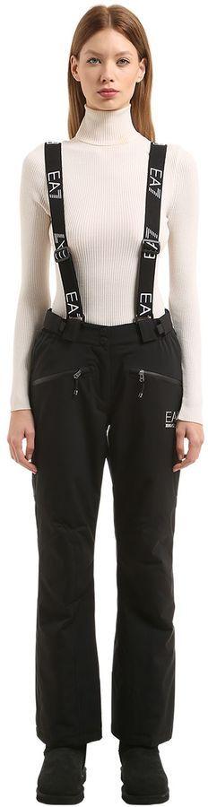 Ski Ride Waterproof Pants W/ Suspenders