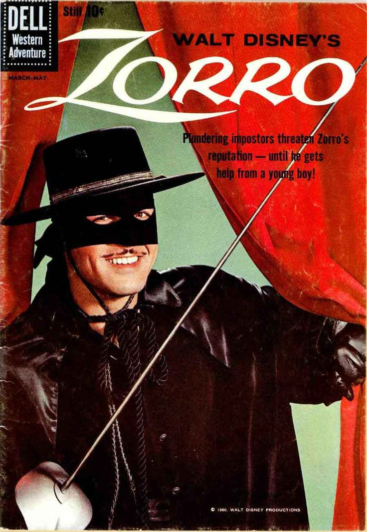 I was going to marry Zorro when I grew up... While I didn't marry Zorro, I do have a propensity to become involved with Latino men hence my Peruvian-American long-term boyfriend.