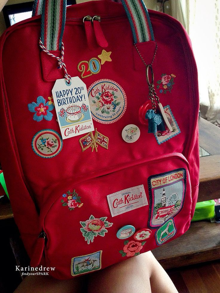 Cath Kidston 20th Anniversary Backpack.