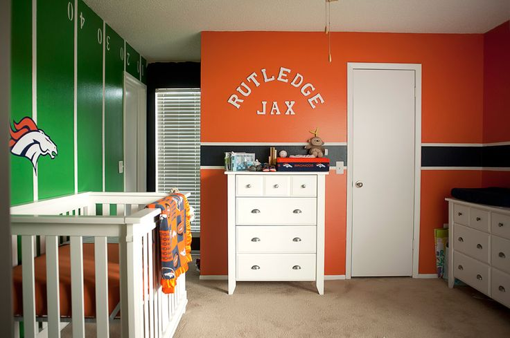 1000 id es sur le th me denver broncos baby sur pinterest for Chambre bebe denver