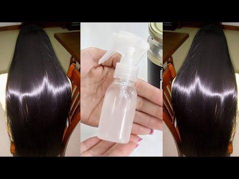 Use isso em seu cabelo seco – Spray caseiro para cabelos finos, fracos e quebradiços - YouTube