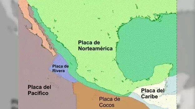 Placas tectonicas.