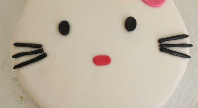 Hello Kitty-kake