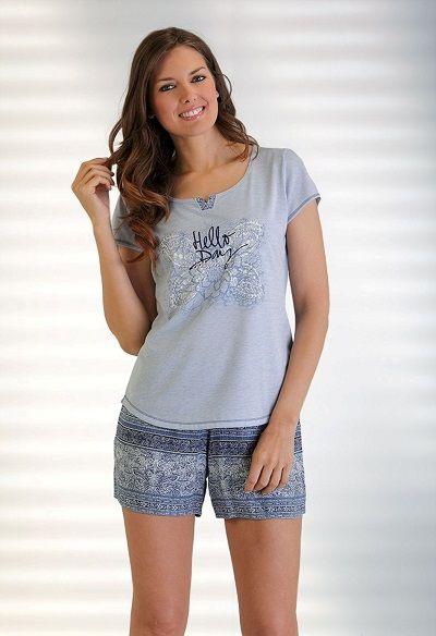 Pijama verano Massana. Sencillez y comodidad uno de los conjuntos favoritos de la colección de pijamas #massana.