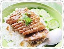 ข้าวหน้าหมูอบAsian Savory, Thai Mad, Savory Recipe