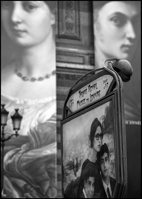Regards de la ville (Metro stop for Musee du Louvre) ~  Paris