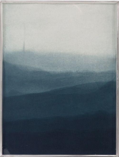 "perles-d-eau-d-abyssinie: "" © Kika LEVY # Paisagem  II (gravura em metal, 40 x 30 cm) """