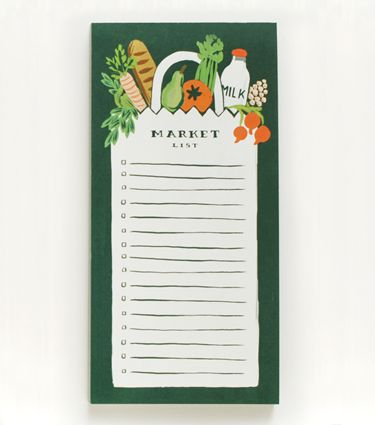 Rifle Paper Co. Market Shopping Pad