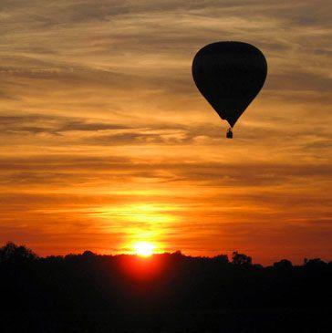 Vol en montgolfière Rauzan Bordeaux Aquitaine Gironde 33 - http://www.sport-decouverte.com/