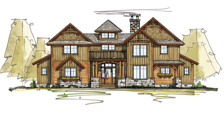 YES! BRIDGE! Rugged Rustic With Second Floor Bridge - 18752CK | 1st Floor Master Suite, Craftsman, Mountain, Northwest, PDF, Vacation | Architectural Designs