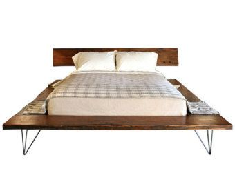 top 25 best solid wood platform bed ideas on pinterest wood platform bed low platform bed frame and solid wood bed frame - Wooden Platform Bed Frame