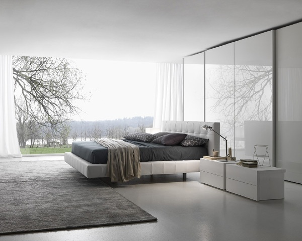 White #bedroom #furniture Set.