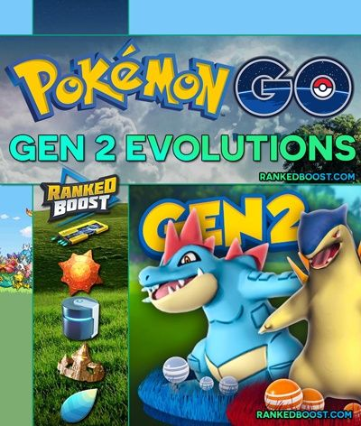 Pokemon GO Generation 2 Evolution Chart | Complete Guide To The Second Generation Pokemon GO Evolutions Lines. Candy Requirements, Baby, Evolution Items.