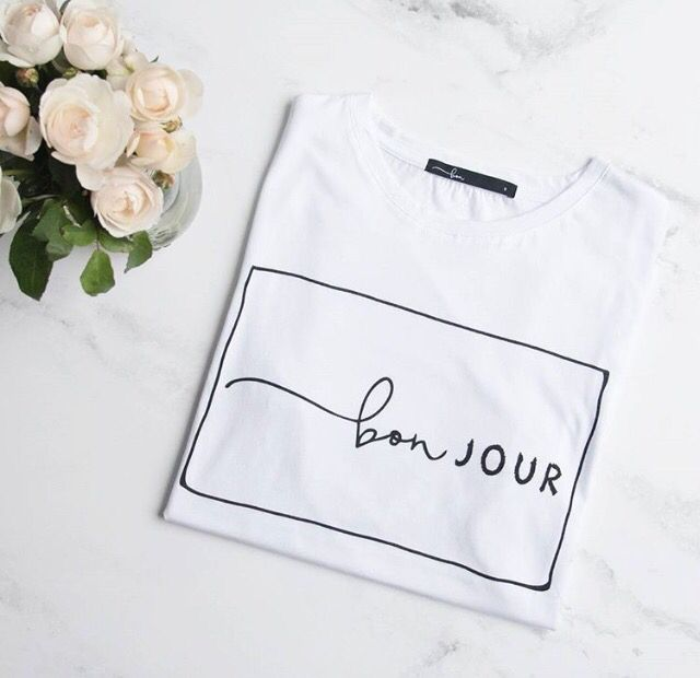 @bonlabel - French slogan tee