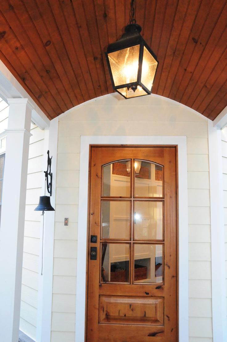 back door to mimic front door
