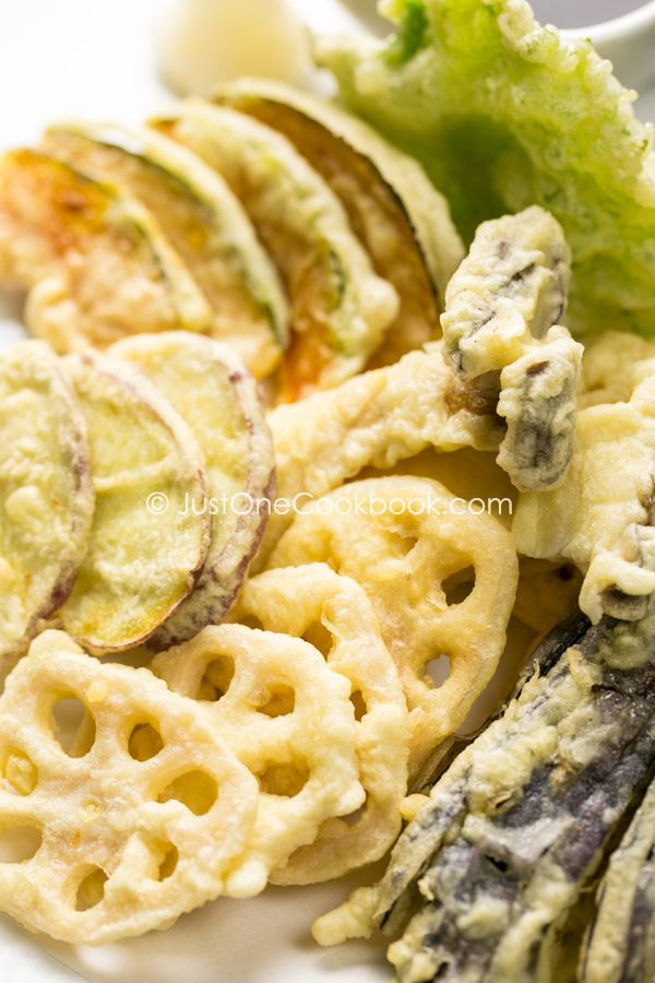 Squash tempura is surprisingly super delicious!  Vegetable Tempura   Vegetable Recipe   Just One Cookbook