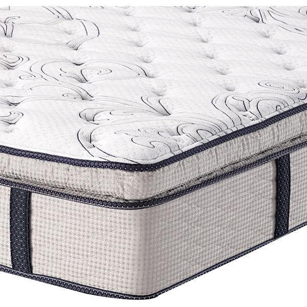 calking mattress serta mendelson euro top