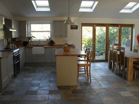Flat Roof Kitchen Extension