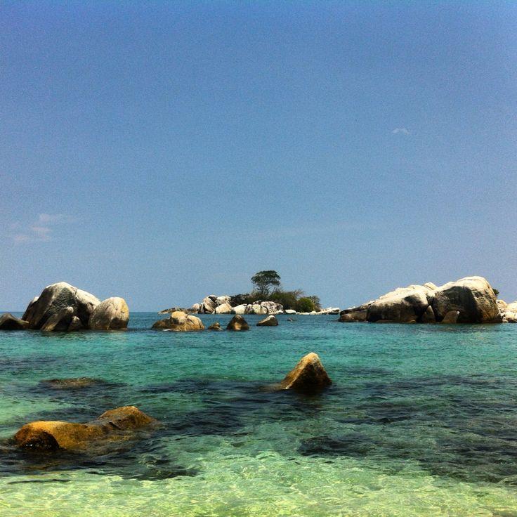 Pulau Lengkuas, Belitung, Indonesia