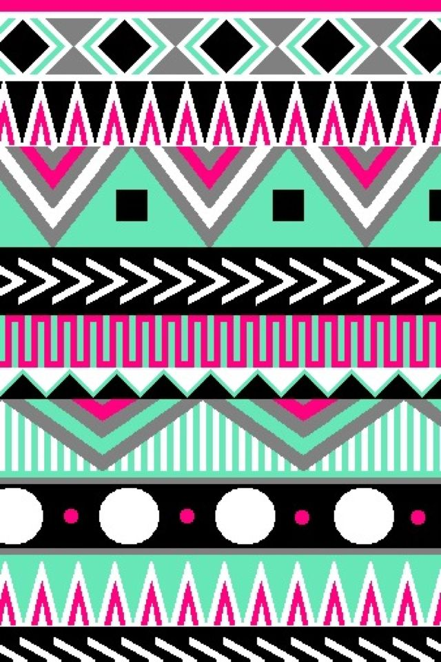 Multi-color Aztec | Cute wallpapers (CocoPPa) | Pinterest ...