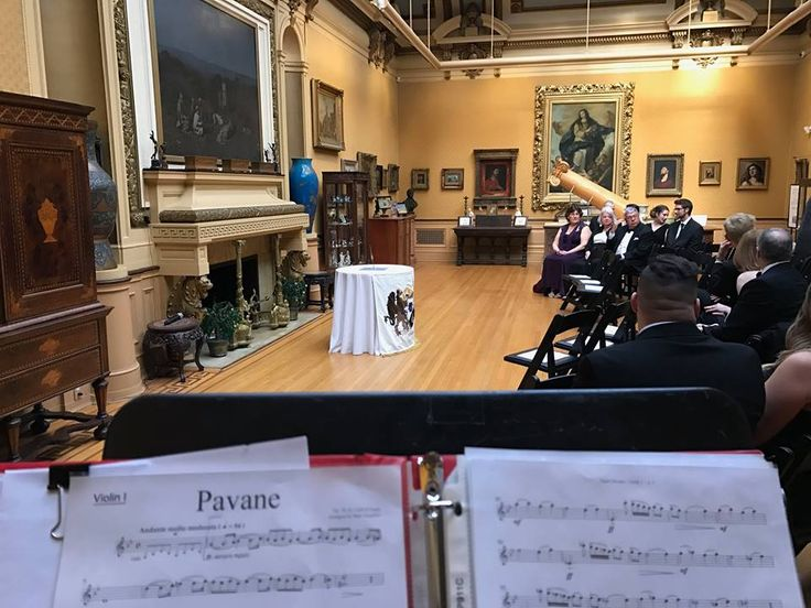We were all ready for this lovely wedding processional! We performed the beautiful Pavane by Gabriel Fauré.  http://philadelphiaquartet.com/  #pavane #faure #wedding #processional #philadelphiaband #psq