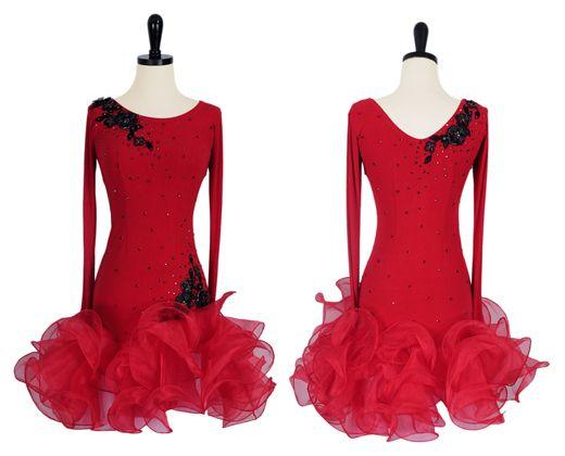 Firecracker   Rhythm & Latin Dresses   Encore Ballroom Couture