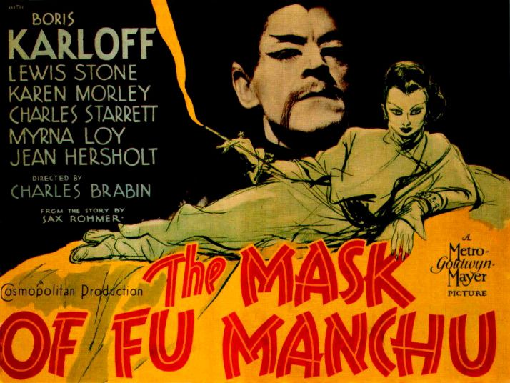 49 best vintage occult images on pinterest crystal ball darkness the mask of fu manchu is a pre code adventure film released in featuring boris karloff as fu manchu and myrna loy as his daughter fandeluxe Choice Image