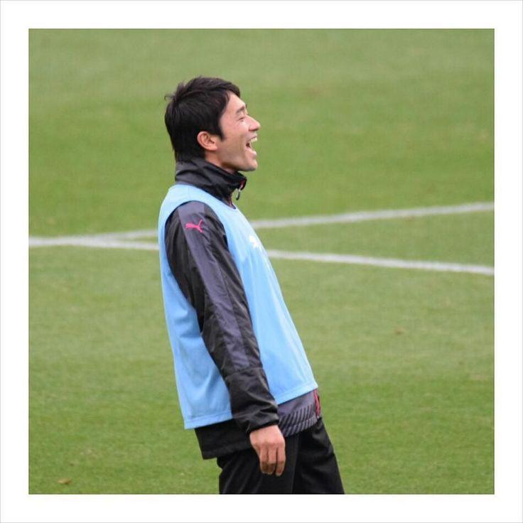 160403 Cerezo Osaka vs JEF United Chiba  なんか楽しそうだったけど試合でゴール決めてこの笑顔が見たい    #玉田圭司 #cerezo #cerezoosaka #セレッソ大阪 #セレッソ #Jleague #soccer #football # by yskym1o