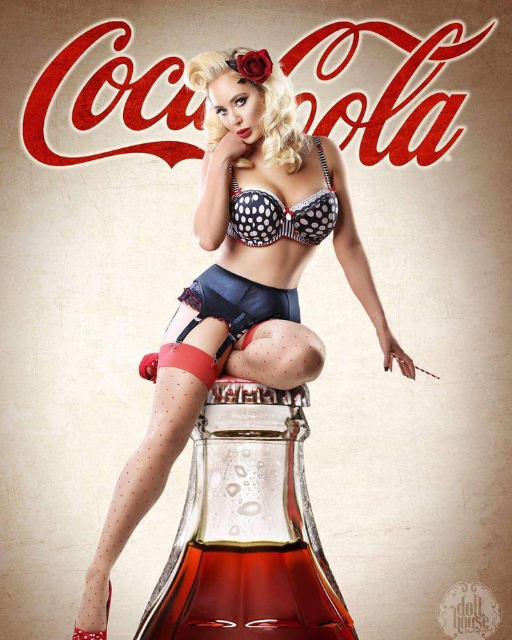 Topless girls blowjob coke cola 1
