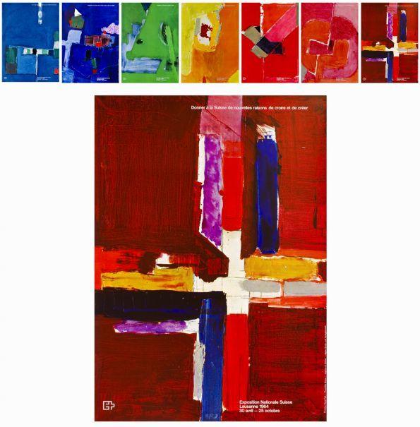 Hans Falk Exposition Nationale Suisse de Lausanne, Prix de l'affiche Suisse 1964