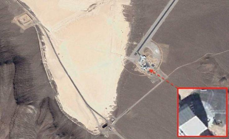 Armáda ukrývá poblíž Oblasti 51 UFO o průměru 30 metrů