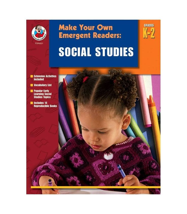 Make Your Own Emergent Readers: Social Studies Resource Book