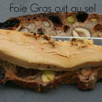 Foie gras cuit au sel Anne | Happy Cooking