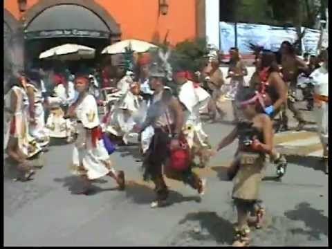 Mega Danza Prehispanica en Tepotzotlan (Mega Prehispanic Dance)